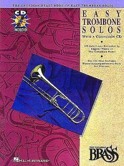 Canadian Brass - Book Of Easy Trombone Solos - Trombone