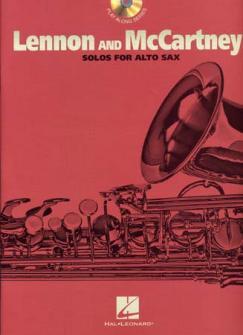 Lennon John/mc Cartney Paul - Solos Alto Sax + Cd
