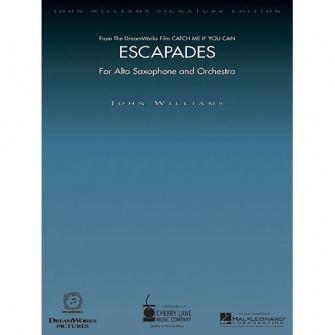 Williams John - Escapades - Sax Alto / Piano