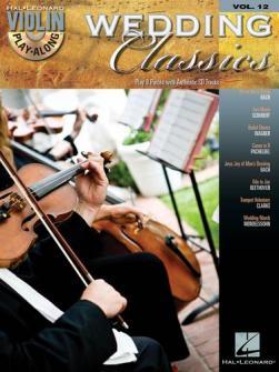 Violin Play-along Vol.12 Wedding Classics - Violon