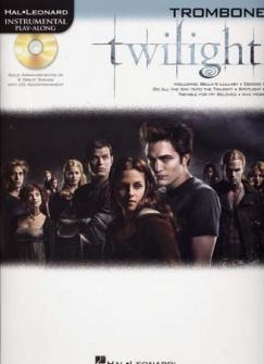 Instrumental Play Along Twilight Trombone + Cd