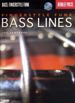 Berklee Fingerstyle Funk Bass Lines Tab + Cd