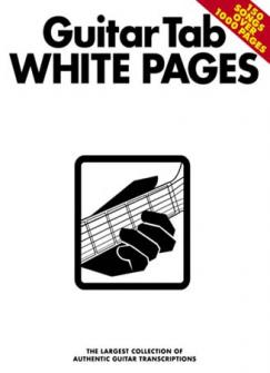 White Pages - Guitar Tab
