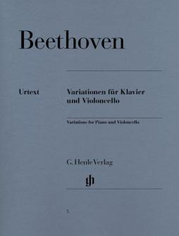 Beethoven L.v. - Variations For Piano And Violoncello