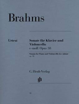 Brahms J. - Sonata For Piano And Violoncello E Minor Op. 38