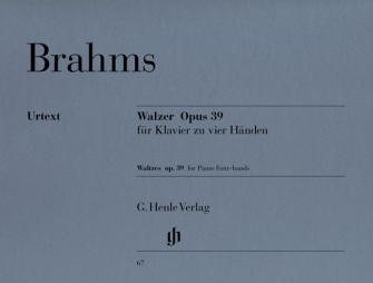 Brahms J. - Waltzes Op. 39