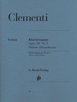 Clementi M. - Piano Sonata Didone Abvolumeonata, Scena Tragica G Minor Op. 50,3