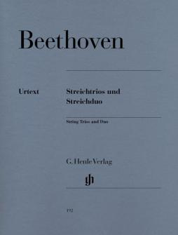 Beethoven L.v. - String Trios Op. 3, 8 And 9 And String Duo Woo 32