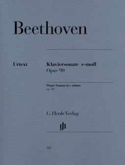 Beethoven L.v. - Piano Sonata No. 27 E Minor Op. 90