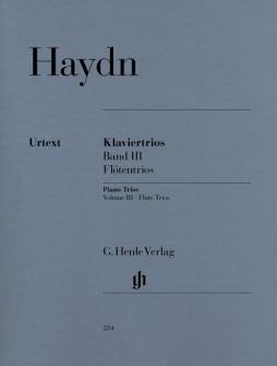 Haydn J. - Piano Trios, Volume Iii  (for Piano, Flute (or Violin) And Violoncello)