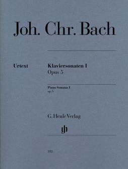 Bach J.c. - Piano Sonatas, Volume I Op. 5