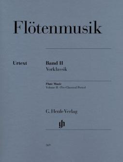 Flute Music, Volume 2 - Pre-classical