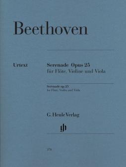 Beethoven L.v. - Serenade For Flute, Violin And Viola In D Major Op. 25