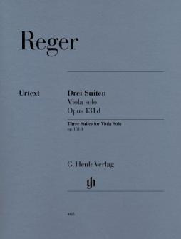 Reger M. - Three Suites For Viola Solo Op. 131d