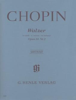 Chopin F. - Waltz A Minor Op. 34,2