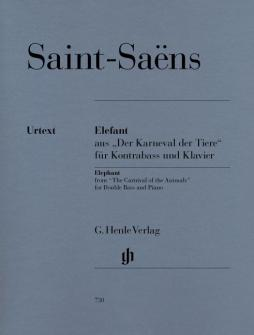 Saint-saens C. - Elephant From The Carnival Of The Animals For Double Bass And Piano