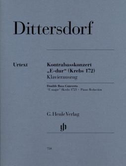 Dittersdorf C.d.v. - Double Bass Concerto In E Major Krebs 172