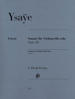 Ysaye E. - Sonata For Violoncello Solo Op. 28