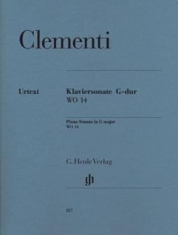 Clementi M. - Piano Sonata G Major Wo 14 - Piano