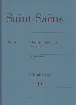Saint-saëns Camille - Klarinettensonate Op.167