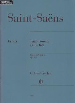 Saint-saëns C. - Sonate Pour Basson Op. 168