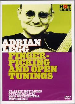 Legg Adrian -  Fingerpicking & Open Tunings -guitar