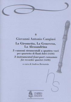 Cangiasi Giovanni Antonio - La Girometta, La Genovesa, La Alessandrina