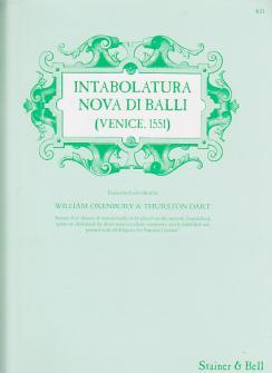Intabolatura Nova Di Ballo - Clavecin (orgue)