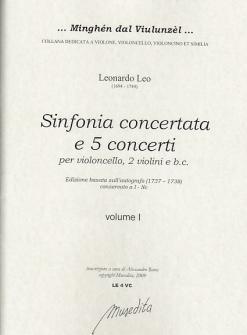 Leo Leonardo - Sinfonia Concertante E 5 Concerti