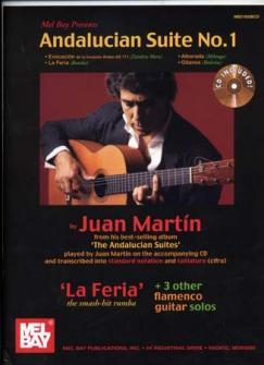 Martin Juan Andalucian Suite N°1 Tab + Cd