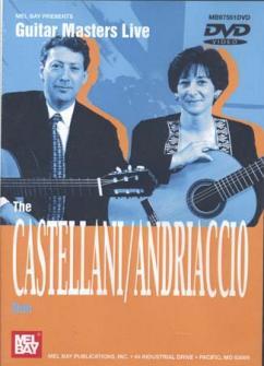 Dvd Guitar Masters Live Castellani/andriaccio Duo