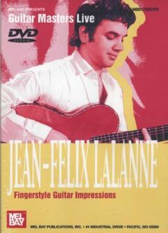 Dvd Guitar Masters Live Lalanne Jean-felix