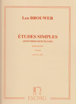 Brouwer Etudes Simples 3ème Serie (n 11 A 15)