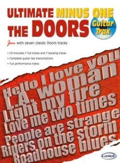 DOORS (THE) - ULTIMATE MINUS ONE GUITAR TRAX + CD