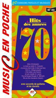 Music En Poche - Les Annees 70 - Paroles Et Accords