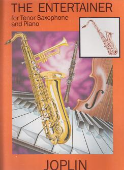 Joplin S. - The Entertainer - Saxophone Tenor Et Piano