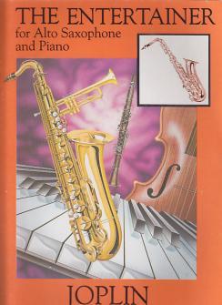 Joplin S. - The Entertainer - Saxophone Alto Et Piano