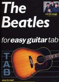 Beatles - Easy Guitar - 13 Hit Songs - Guitar Tab