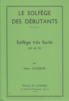 Classens Henri - Le Solfege Des Debutants