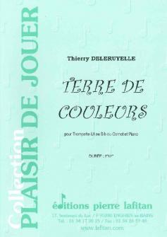 Deleruyelle Thierry Terre De Couleurs Trompette Sib Ou Ut Ou Cornet Et Piano