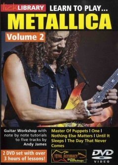 Lick Library Learn To Play Metallica Vol.2 Dvd - Guitare