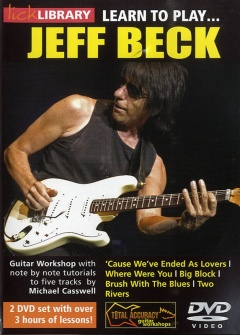 Lick Library Learn To Play Beck Jeff 2 Dvd