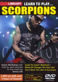 Lick Library Learn To Play Scorpions 2 Dvd - Guitare