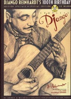Reinhardt Django - 100eme Anniversaire 81 Themes + Cd - Guitare Tab
