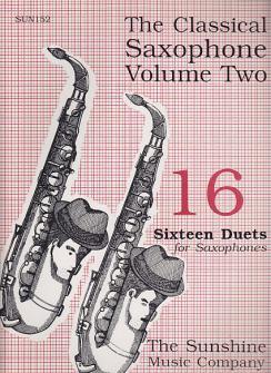 Classical Saxophone Vol. 2 - 2 Saxophones