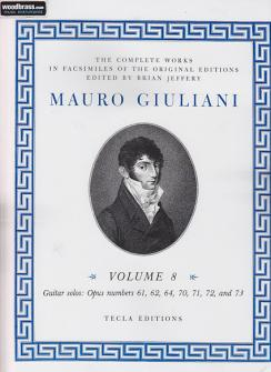 Giuliani M. 6 Complete Works, Vol. 8 - Guitare
