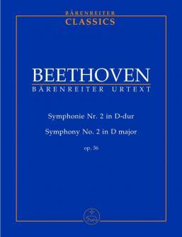 Beethoven L.v. - Symphonie N°2 En Re Majeur Op.36 - Conducteur Poche