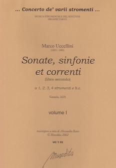 Uccellini Marco - Sonate, Sinfonie Et Correnti (libro Secondo)1639