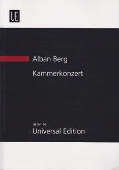 Berg Alban - Kammerkonzert - Conducteur