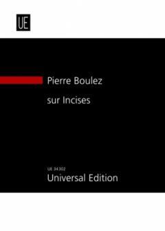 Boulez P. - Sur Incises - Conducteur